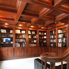 Traditional Home Office by Essential Home Artisans Design Center