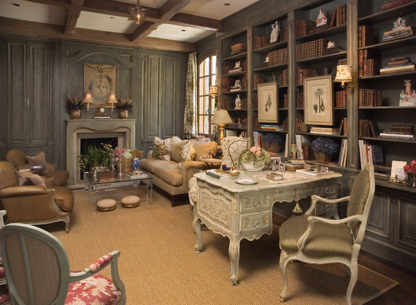Traditional Home Office by Jack Arnold Companies