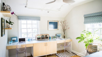 Light and Airy Home Office