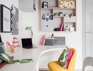 Light and Bright Home Office