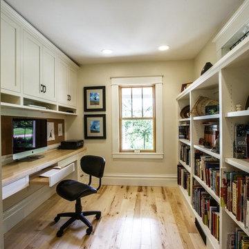 Light Hardwood Home Office