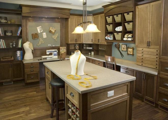Traditional Home Office Lisa Geisler Design