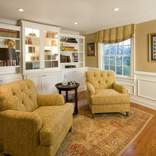 Traditional Home Office by lisa furey - barefoot interiors