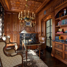 Traditional Home Office by Palmer Designs
