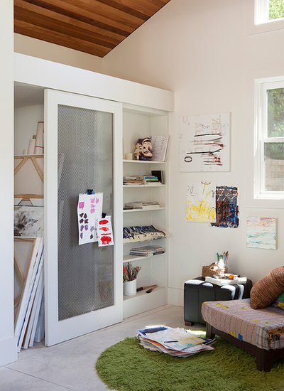 Traditional Home Office by Lara Dutto, Laraarchitecture