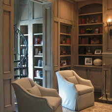 Traditional Living Room by K Two Designs, Inc.