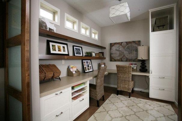 Modern Home Office by Avonlea Homes