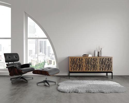 Ufficio Pavimento Grigio : Foto e idee per uffici ufficio moderno bridgeport