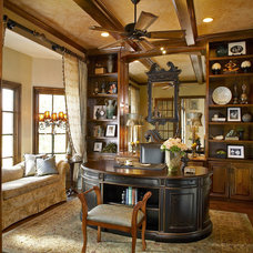 Traditional Home Office by Decorating Den Interiors
