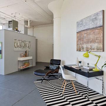 Loft Home Office