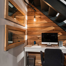 Contemporary Home Office by theMACNABs
