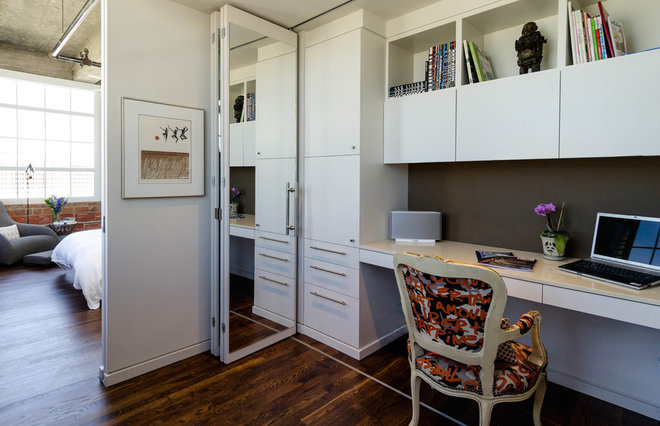 Industrial Home Office by C O N T E N T Architecture