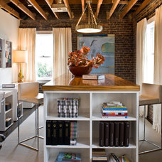 Contemporary Home Office by Kenneth Brown Design