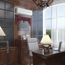 Contemporary Home Office by Lompier Interior Group