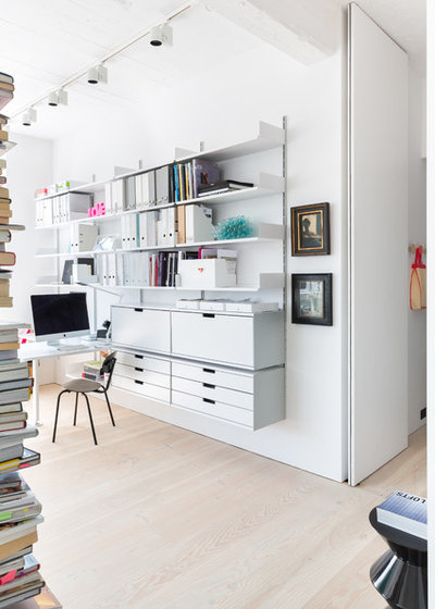 Scandinavian Home Office by Nia Morris Studio