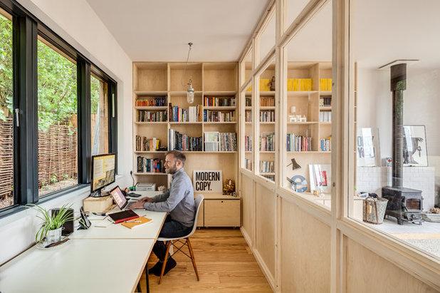 Skandinavisk Arbetsrum by Mailen Design