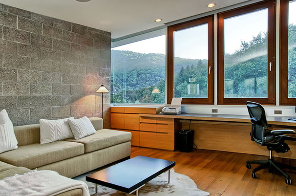 Contemporary Home Office by mark pinkerton  - vi360 photography