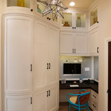Transitional Home Office by Allwood Construction Inc