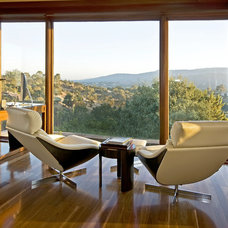 Contemporary Home Office by Brian David Peters AIA