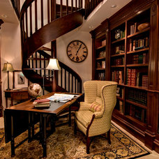 Traditional Home Office by Rutt of Los Altos