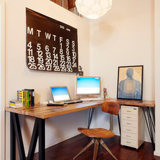Industrial Home Office by Modern Mecca™ | Los Angeles Home Staging