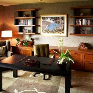 Inredning av ett exotiskt arbetsrum