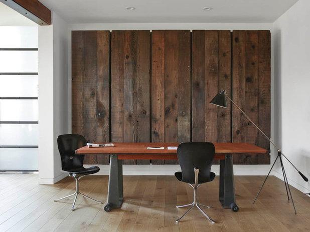 Contemporain Bureau à domicile by Union Studio