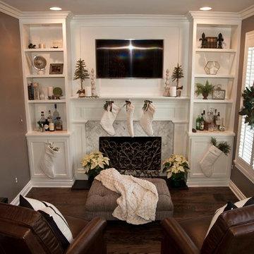 Lovely transitional home renovation