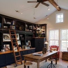 traditional home office by Wayne Windham Architect, P.A.