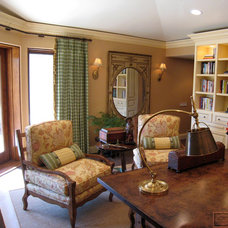 Traditional Home Office by LPC Designs