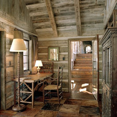 Rustic Home Office by Big-D Signature