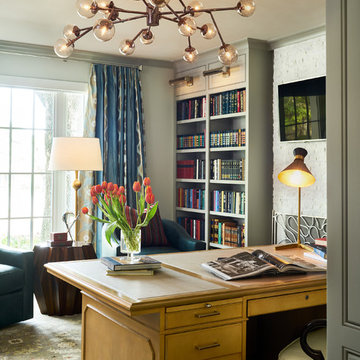 Luxury Estate Remodel: Library