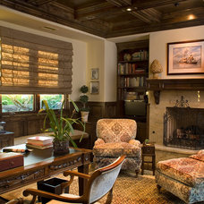 Traditional Home Office by Hamilton-Gray Design, Inc.