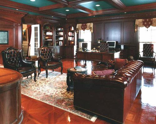 Luxury Library Houzz