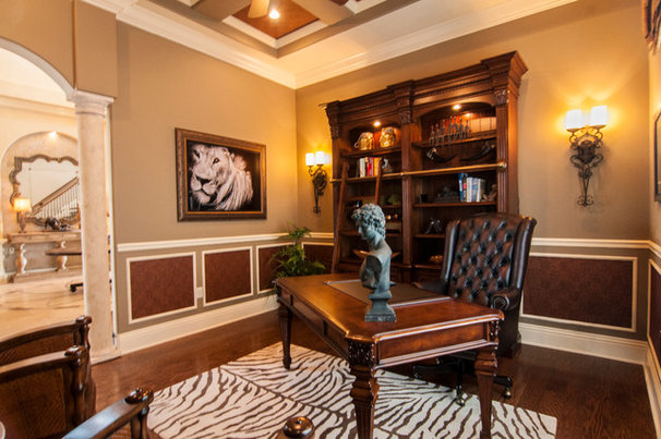 Traditional Home Office by Regency Interior Design,LLC