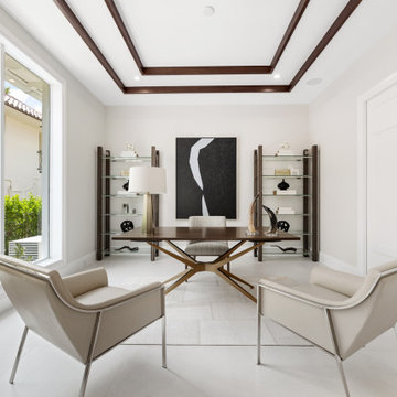 Luxury Staging | Seven Isles Waterfront Home | Fort Lauderdale, FL