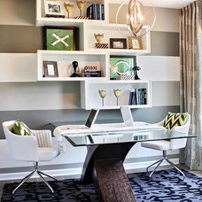 Contemporary Home Office by M/I Homes