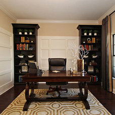 Transitional Home Office by M/I Homes