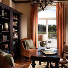 Mediterranean Home Office Mabelina