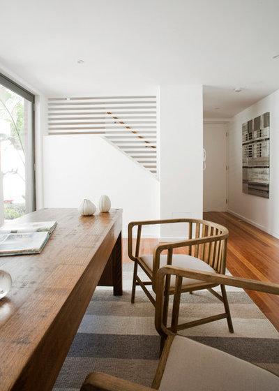 Moderne Bureau à domicile by BKA Architecture Pty Ltd