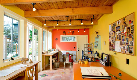 See a Tile Maker's Colorful Home Studio