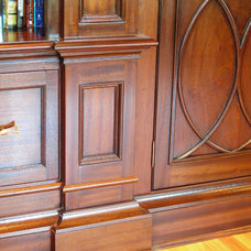 Traditional Home Office by Sunrise Custom Woodworking