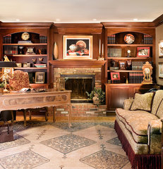 traditional home office by Marlene Wangenheim AKBD, CAPS, Allied Member ASID
