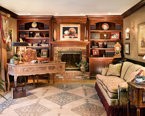 Bookshelves Around Fireplace Home Design Ideas
