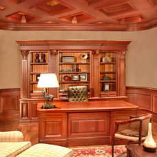 Traditional Home Office by Tracy Tyler Designs