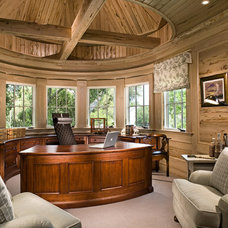 Traditional Home Office by A. Tate Hilliard, Architect/Builder