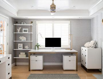 Manhattan Beach Cape Cod Home Office