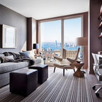 Ceo Office Space Modern Home Office Vancouver By Accentrix Design