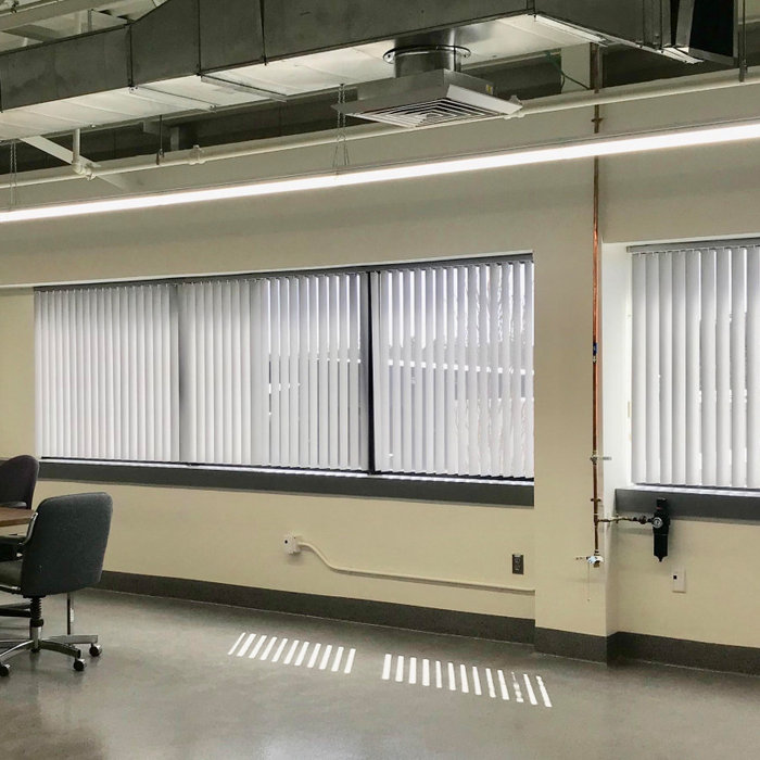 Manufacturing Facility Blinds & Screen Shades