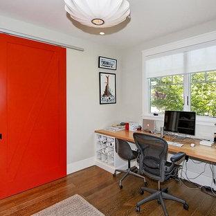 Rustikales Arbeitszimmer in San Francisco